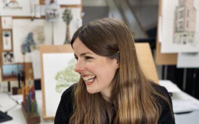 Illustration with Zoë Barker