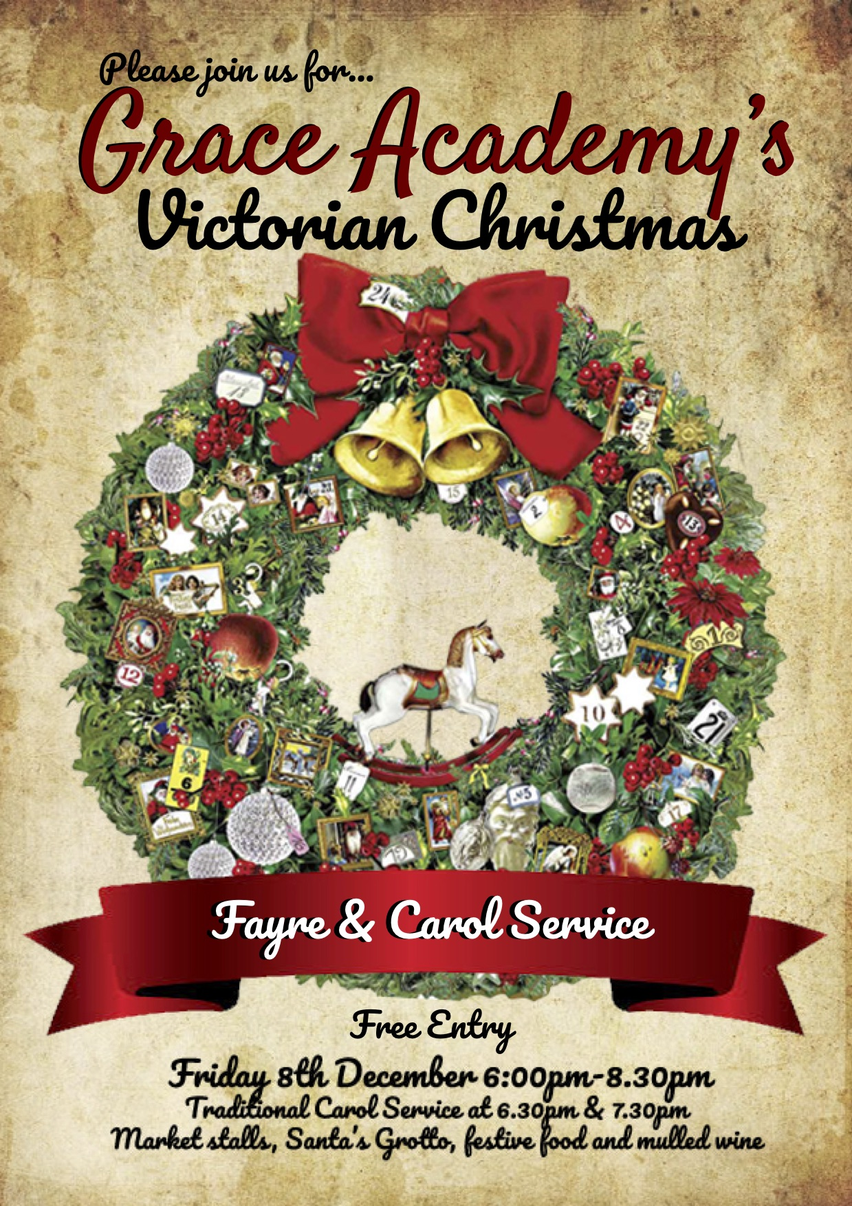 Victorian Christmas Fayre and Carol Service