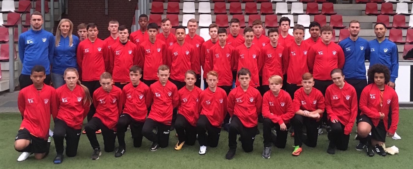 Football trip of a lifetime to Holland