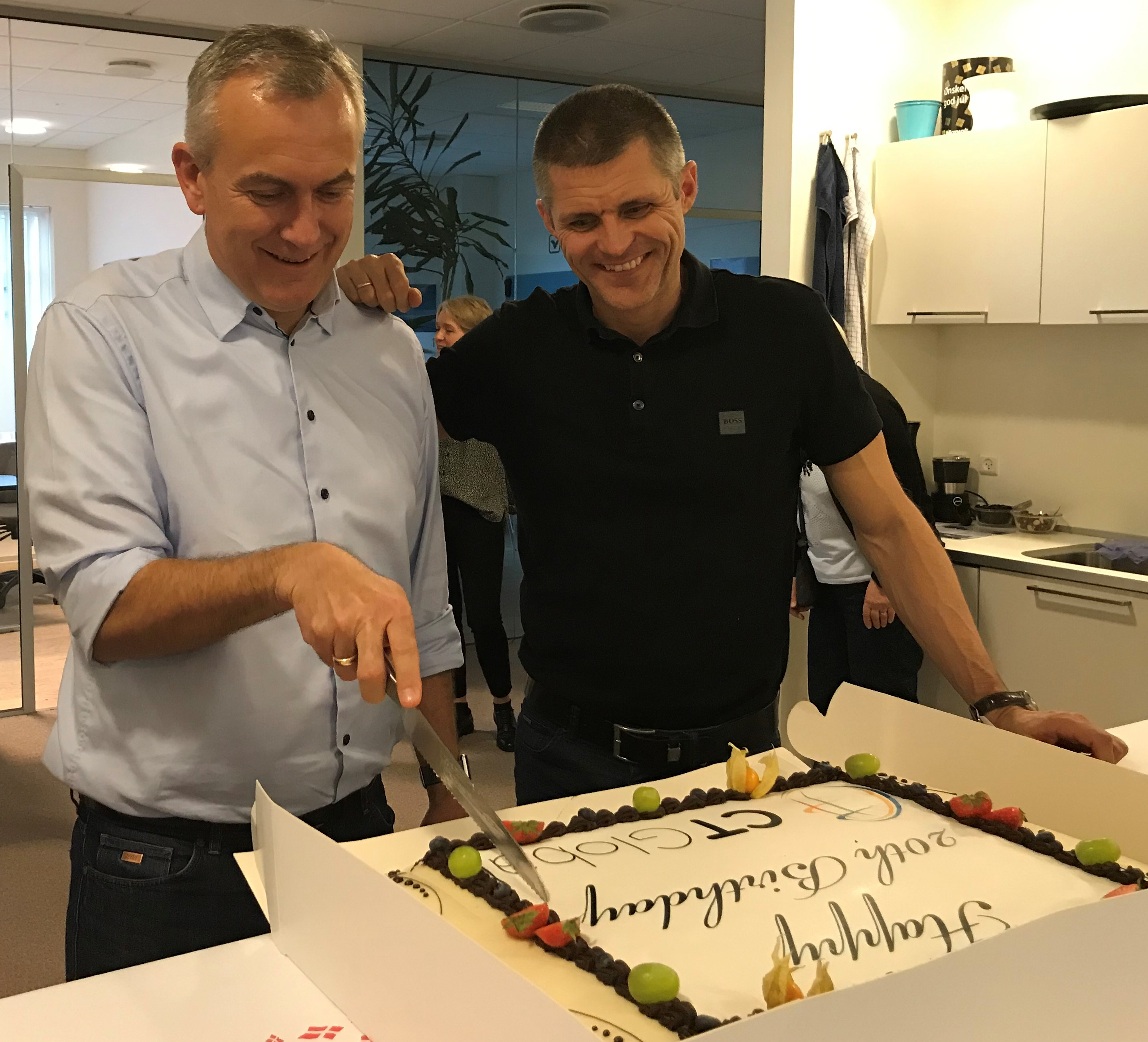 Kent and Peter CTGlobal 20 years