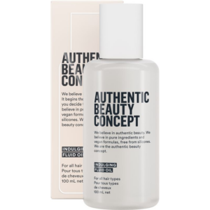 Authentic Beauty Concept Indugling Fluid oil 100ml. Perfect for smoothing and heat protection