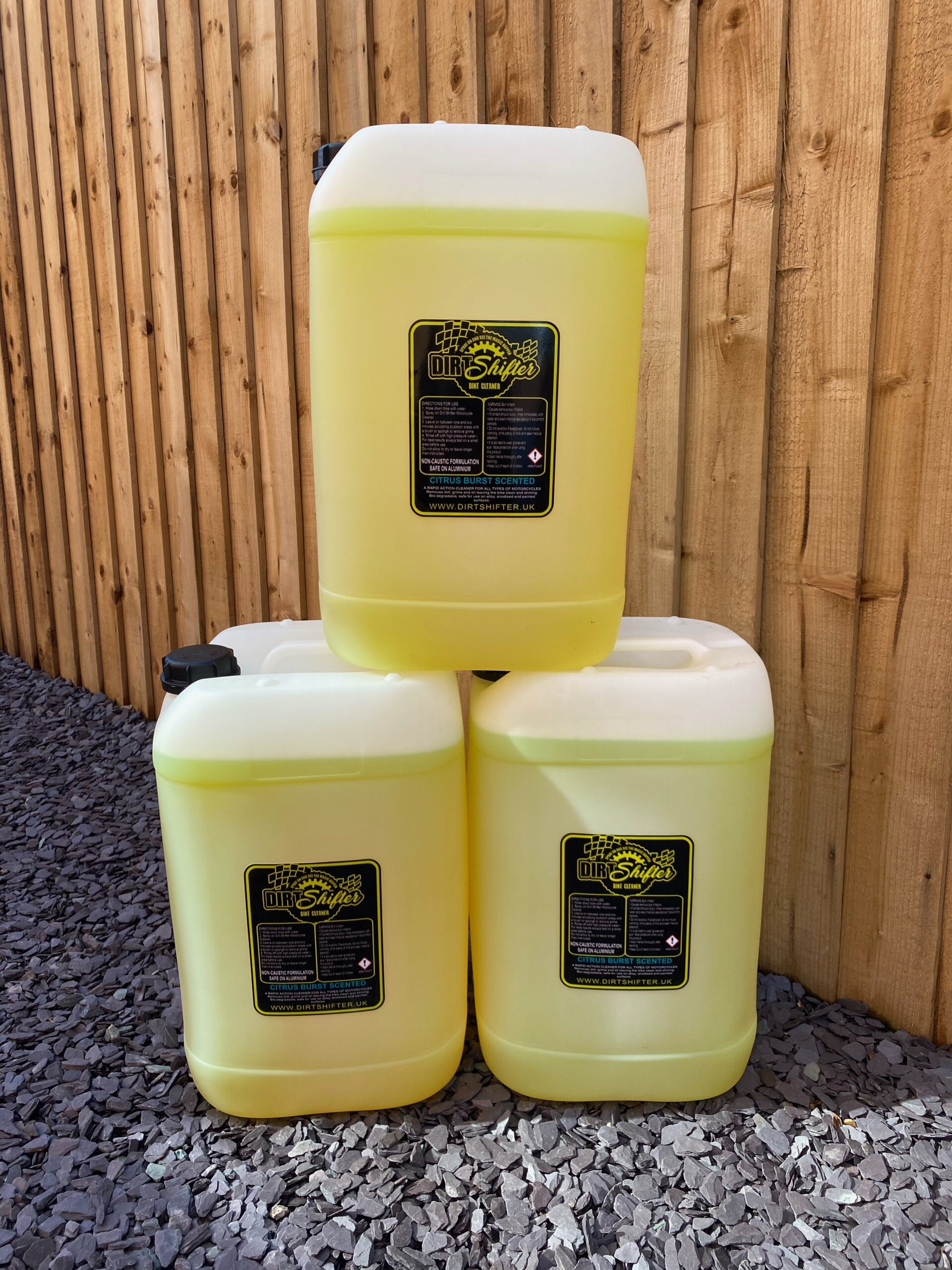 Dirtshifter cleaning products