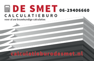 KYOKU GYM Kickboksen Leeuwarden De Smet Calculatieburo Sponsor logo