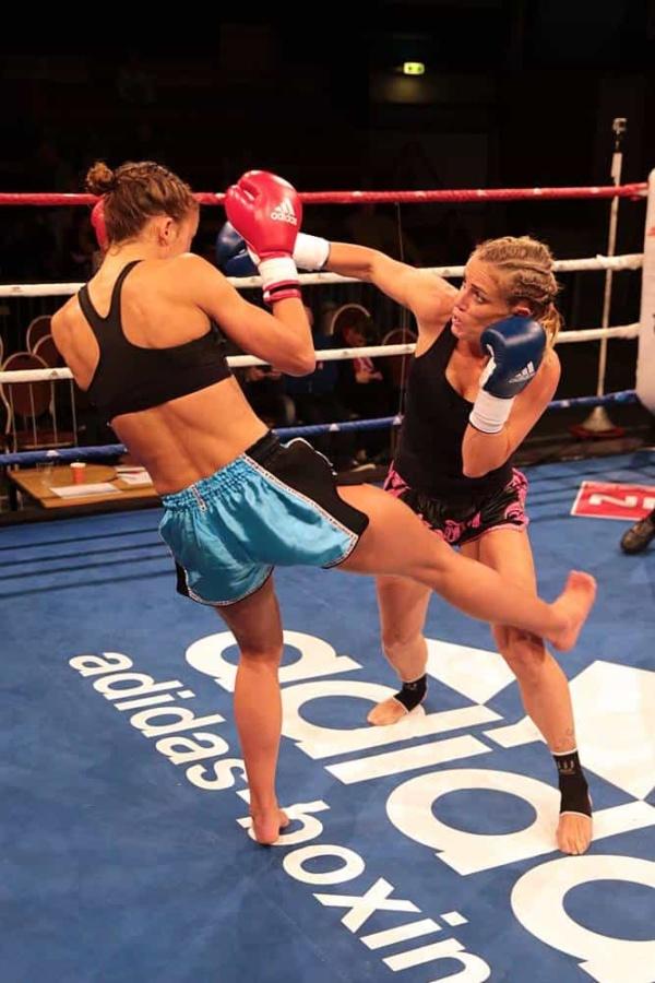 kickboksen Leeuwarden kyoku gym north vs the rest dames