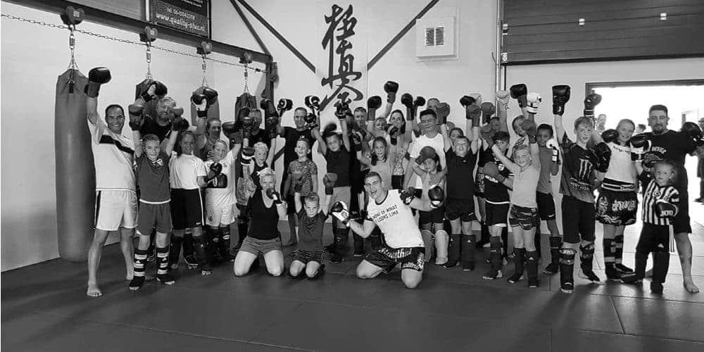 Kickboksen Leeuwarden KYOKU Gym Jeugd Groep