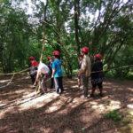 summer camp at high adventure