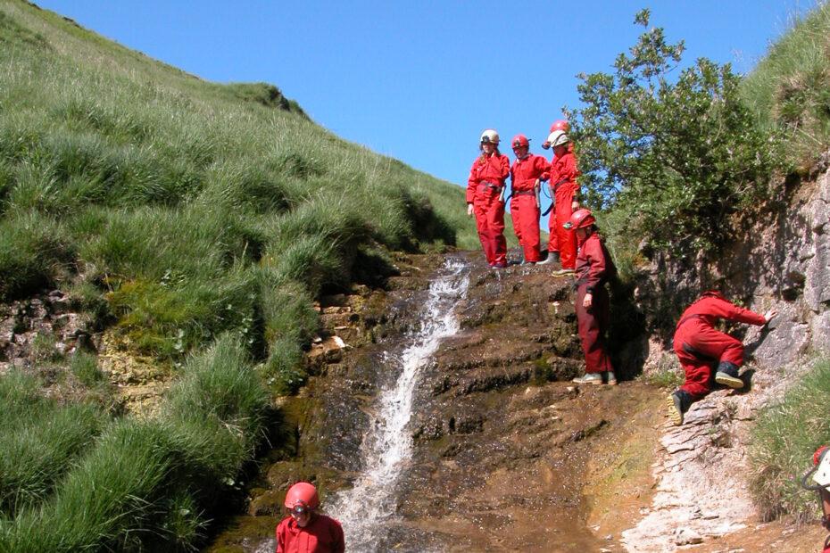 Caving. waterslide (2)