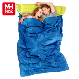 NatureHike-ultralight-cotton-double-sleeping-bag-with-pillow-winter-autumn-envelope-hooded-outdoor-goose-down-sleeping