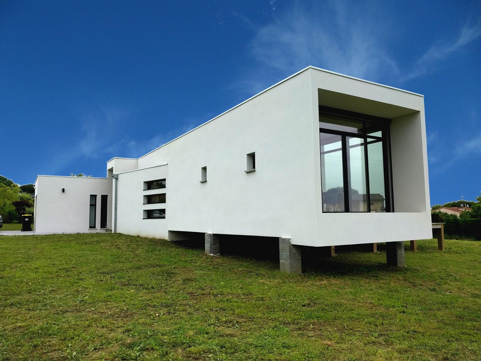 Maison RT2012 Contemporaine