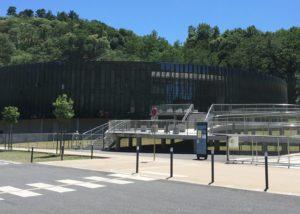 Test d'étanchéité à l'air du palais de justice de Foix