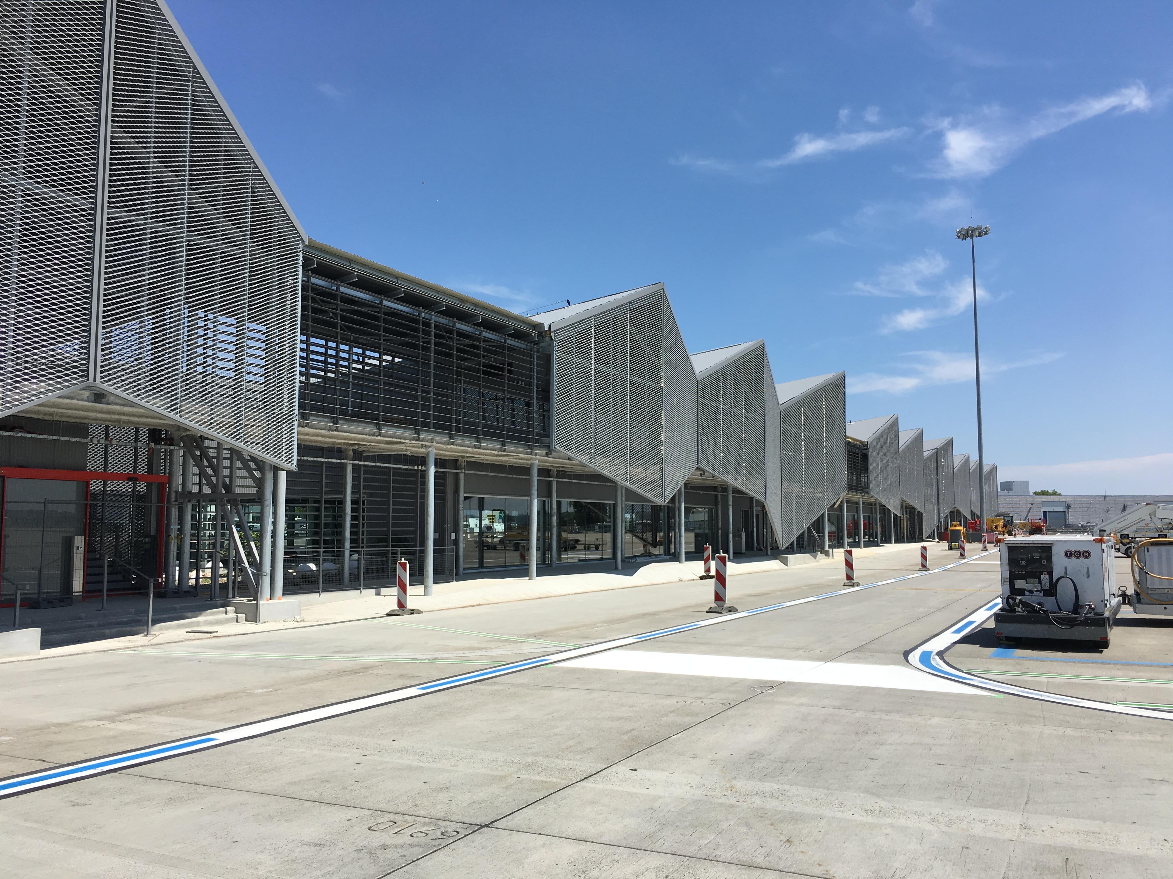 Extension Hall A – Aéroport Toulouse