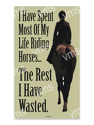 AN006 – Riding Horses – 8×14