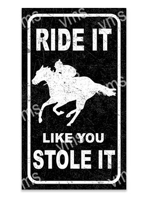 AN011 – Ride It Like You Stole it – 8×14