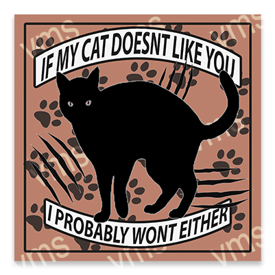 AN021 – Cat Doesn't Like you Bulldog – 12×12