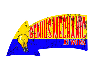 ARW002 – Genius Mechanic – 26″x14″