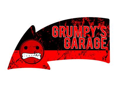 ARW004 – Grumpys Garage – 24″x14″