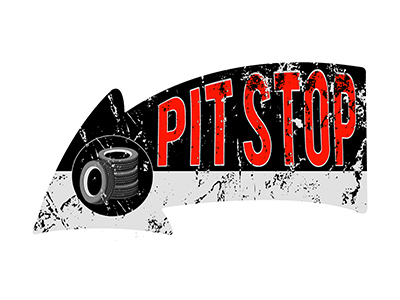 ARW005- Pit Stop 16″x8″