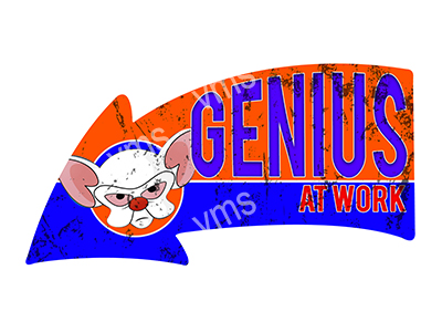 ARW008 – Genius At Work – 26″x14″
