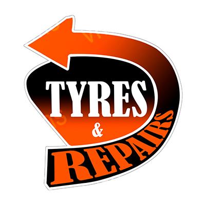 ARW030 – Tyres & Repair -16″x14″