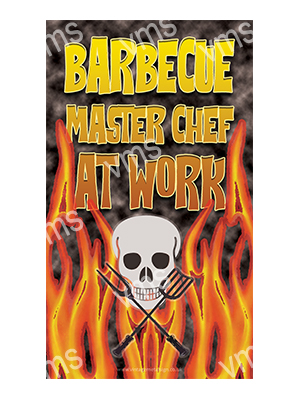 BBQ001 – Barbeque Master Chef – 8×14