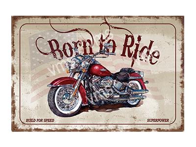 BTR002 – Born To Ride – 24″x16″