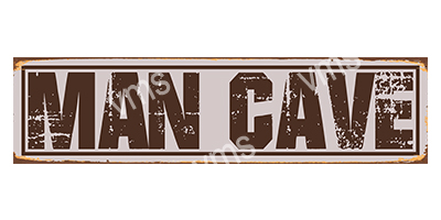 CAV001 – Man Cave 18″x4.5″
