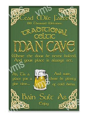 CAV004 – Celtic Man Cave – 16″x24″