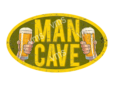 CAV006 – Man Cave – 8″x14″