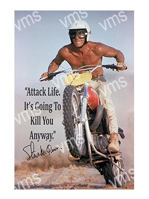 CLB002 – Attack Life – 16″x24″