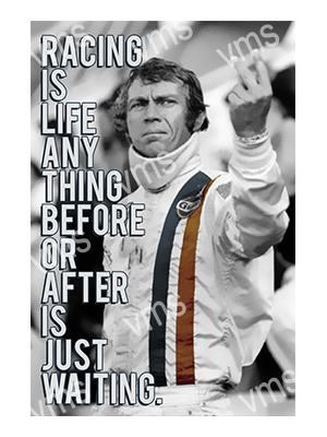 CLB005 – Racing is Life – 16″x24″