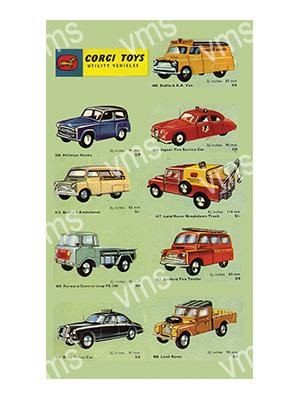 CORG001 – Utility Vehicles – 8″x14″