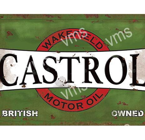 CSTL001 – Motor Oil Green – 18″x12″