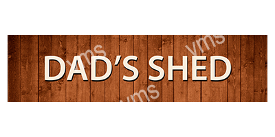 DAD004 – Dads Shed – 4.5″x18″