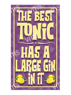 DNK005 – The Best Tonic – 8″x14″