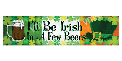 DNK022 – I'll Be Irish – 18×4.5