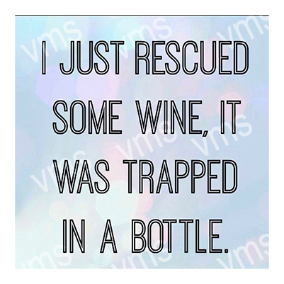 DNK028 – Rescued Some Wine – 12″x12″
