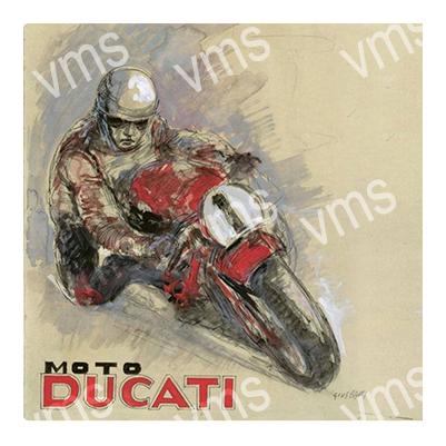 DUC005 – Vintage Racer 12″x12″
