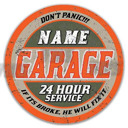 PERS009 24 HOUR GARAGE