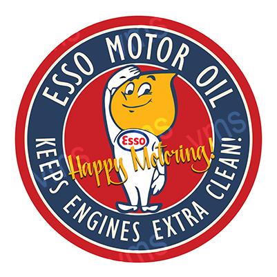 ESS001 – Happy Motoring – 14″ Round