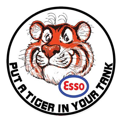 ESS005 – Tiger – 14″ Round
