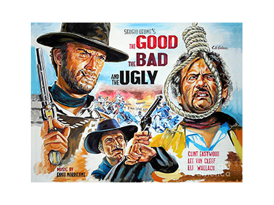 FLM013 – The Good The Bad – 12″x16″