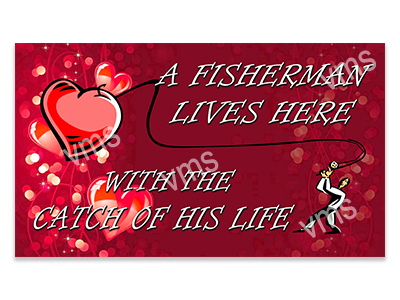 FSH004 – Catch Of His Life – 14″x8″