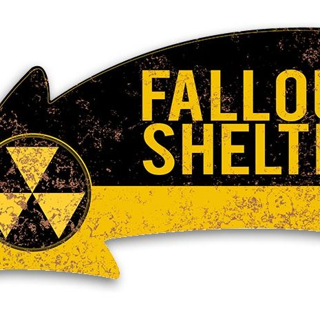 ARR015 16″x8.5″ FALLOUT SHELTER