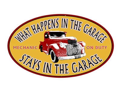 GHU005 – What Happens In The Garage – 24″x14″