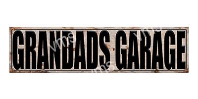 GRG004 – Grandads Garage – 4.5″x18″