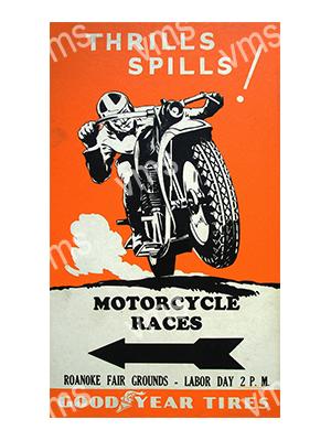 GYT001 – Thrills And Spills – 8″x12″