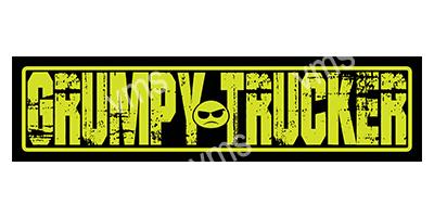 HGV001 – Grumpy Trucker – 18″x4.5″