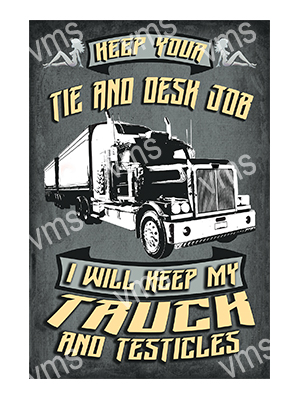 HGV005 – Truck and Testicles – 16″x24″