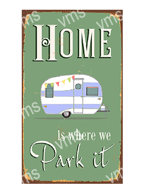 HHU009 – Home Is Where We Park It – 8″x14″