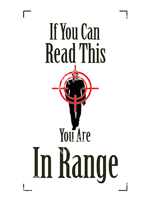 HHU033 – You Are In Range – 8″x14″